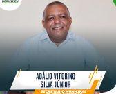 ADÁLIO VITORINO SILVA JÚNIOR.  Novo SECRETÁRIO MUNICIPAL DE MEIO AMBIENTE