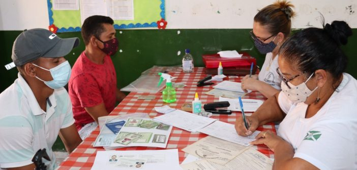 Moradores do Distrito de Vila Ligação, Foram Atendidos com Serviço Gratuito de Emissão de Identidade(RG)