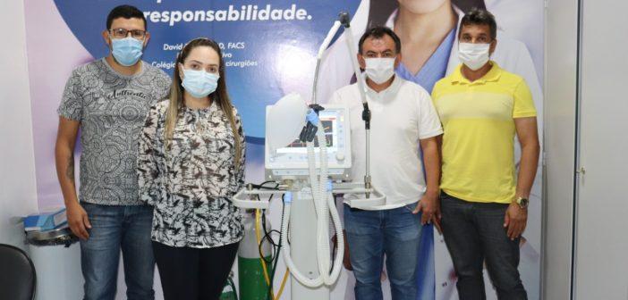 Entrega de Mais dois Respiradores de Suporte Ventilatório (Adulto, Pediatra e Neonatal)